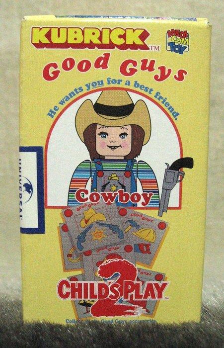 [狗肉貓]_Kubrick Child's Play 2 Good Guys Chucky [ Cowboy ] 恰奇
