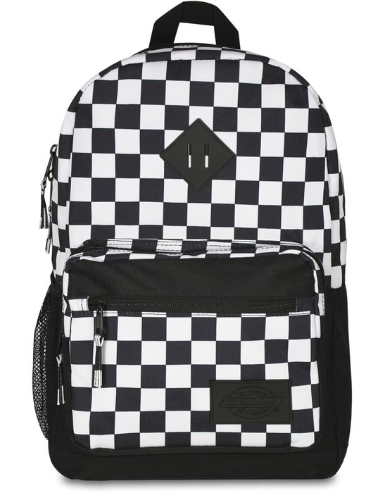 (安心胖) DICKIES Study Hall Backpack #I0175  黑色/白色格