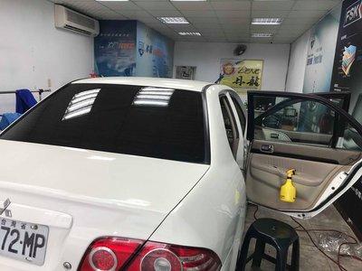 達豐汽車大樓隔熱紙 車身3M8803C+前檔3M8702E一般轎車完工價4000超優惠組合享5年保固