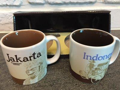 印尼 雅加達 城市杯 星巴克 馬克杯 濃縮小杯3 fl oz 附有盒及紙袋  無現貨 須預購