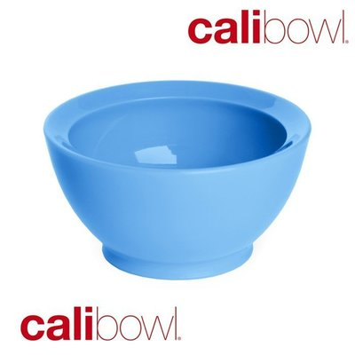 【波波的家】美國 Calibowl 專利防漏幼兒學習碗 8oz (無蓋單入) 天空藍