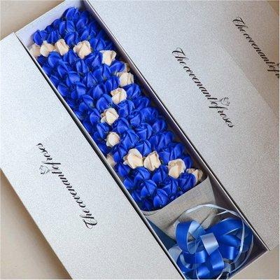 5Cgo【鴿樓】含稅會員有優惠  531045338207 玫瑰香皂花創意禮品送女友生日禮物99朵+禮盒