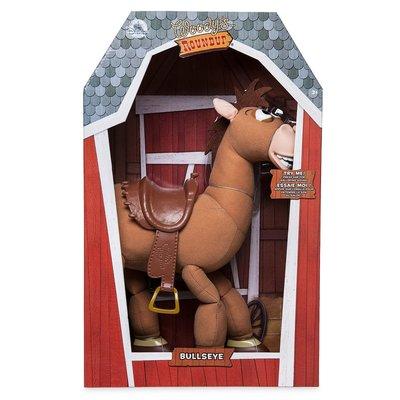 【ToyGo】 * 美國 迪士尼 玩具總動員 紅心馬 Bullseye 電影 聲效公仔玩具 40cm