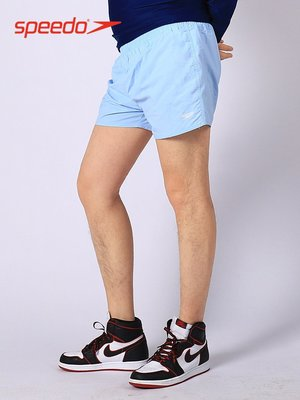 軟妹泳衣新款Speedo速比濤沙灘褲男士13英寸運動休閒短褲速干寬松平角泳褲