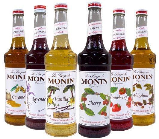 【阿提卡Anike】MONIN法國天然果露(咖啡店專用1000cc)焦糖 /香草 /榛果 /玫瑰  果露