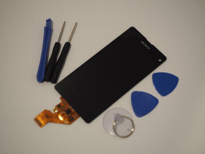 免 ~新生手機快修~SONY Z1 Compact Z1 mini 液晶螢幕總成 無法顯示