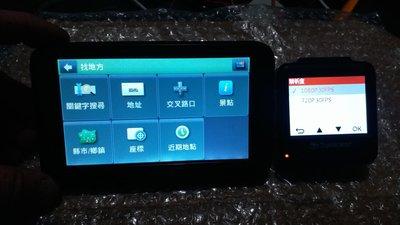 Mio N381-5000新版圖資 衛星導航 + Transcend DrivePro100 行車記錄器 含 16Gb記憶卡 外觀極佳