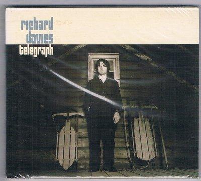 [鑫隆音樂]西洋CD-理察戴維斯Richard Davies:電報Telegram/BRRC1001152/全新/免競標