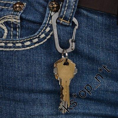 {MPower} 美國名廠 Nite Ize CSL2 SlideLock C型扣 不銹鋼 爬山扣 登山扣 鎖匙扣 Key Chain - 原裝行貨