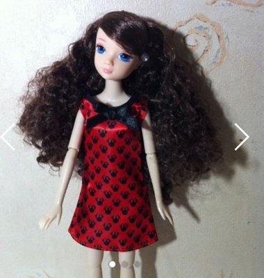 kurhn 可兒娃娃 芭比 公仔 barbie 捲髮 藍眼睛 特別版臉模 九關節 articulated