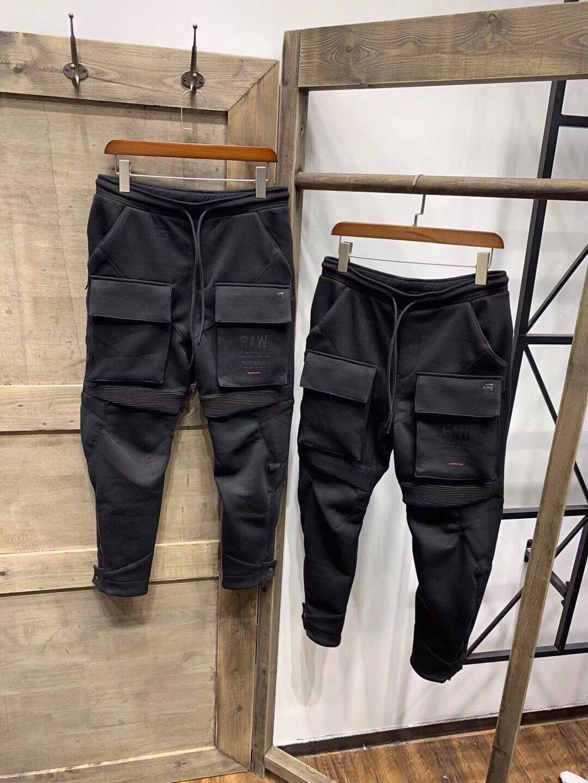 【傑森精品】G-STAR 挺括 厚實 太空棉 3D立體裁剪 拼接 多口袋 小腳  休閒 工作褲