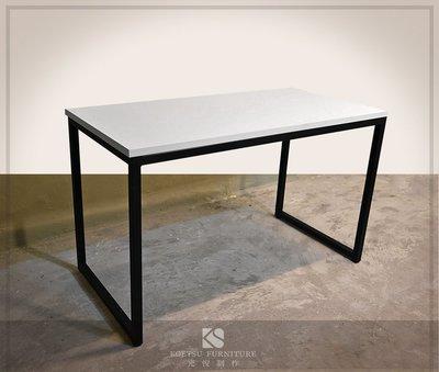 TA-07 白色塑合板長桌【光悅制作】 LOFT 工業風 會議桌 長桌 民宿 餐廳 商業空間 百貨 美食街 連鎖店