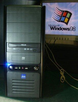【窮人電腦】跑Windows 98系統!自組華碩工業主機出清!雙北桃園可親送!外縣可寄!