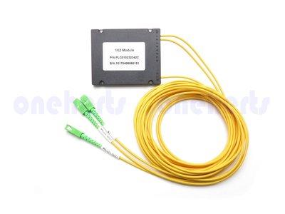 光纖二分配 分光器WDM 光分路器Coupler 光耦合器 多模 單模 接頭可選 可以客製化 光纖分配