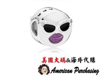 美國大媽代購 Pandora 潘朵拉 琺瑯新款夏日酷臉串珠 925純銀 Charms 美國代購