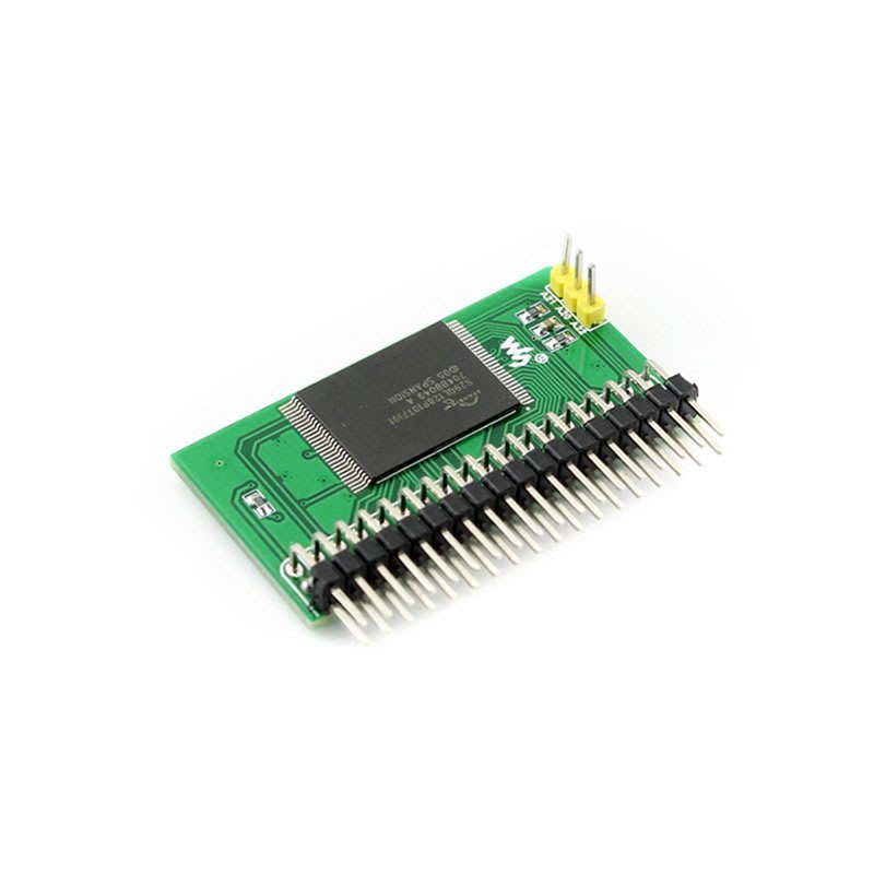 微雪 S29GL128P Nor Flash 模組 NorFlash模組 存儲模組 8BIT模式 W43