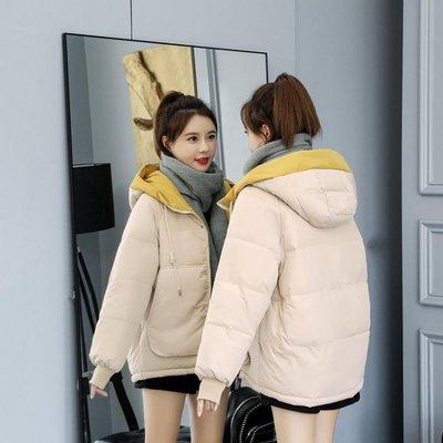 【全館免運】羽絨棉服女短款冬季2019新款韓版ins面包服棉襖寬鬆加厚棉衣外套