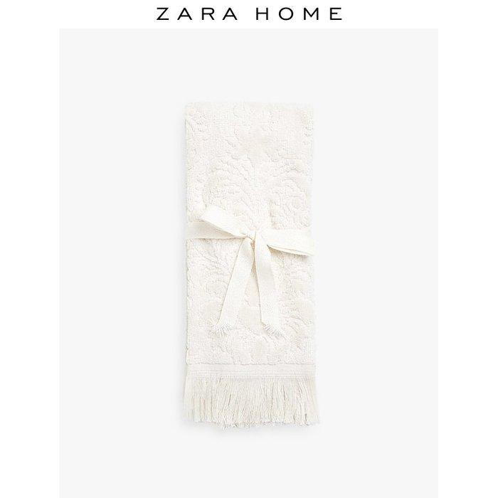 浴巾 毛巾Zara Home 花卉圖案提花毛巾(2條裝) 41608724706
