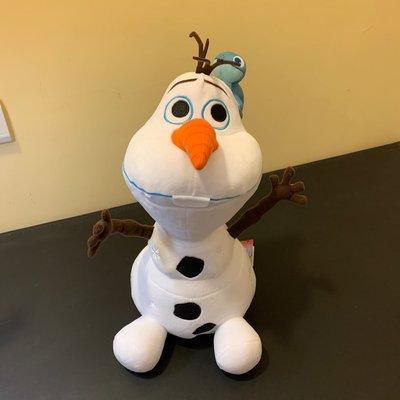 迪士尼 冰雪奇緣 2 火靈 布魯尼 與 雪寶 絨毛娃娃 30公分