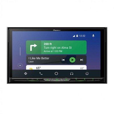 【Pioneer】AVH-Z9250BT 7吋CarPlay DVD觸控螢幕主機-(平行輸入)