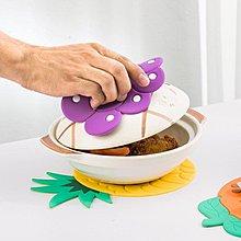[免運—可開發票]北歐創意盤墊餐桌隔熱墊家用菜碗碟墊子碗墊杯墊矽膠 「粉色世家」