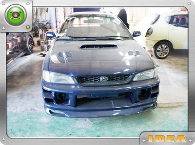 泰山美研社6770 SUBARU 速霸陸 IMPREZA  GC8 CUSCO 前保桿