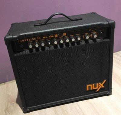 《白毛猴樂器》Nux Frontline 30瓦電吉他音箱