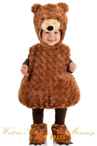 妍媽咪兒童禮服出租~可愛寶貝泰迪熊造型服~周歲寫真派對抓周