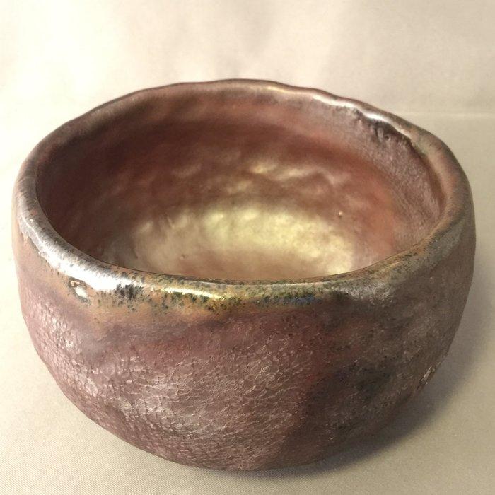 [裕山]陶&茶:土呆老師-柴燒茶碗td75(11.5*11.2*7.0公分)