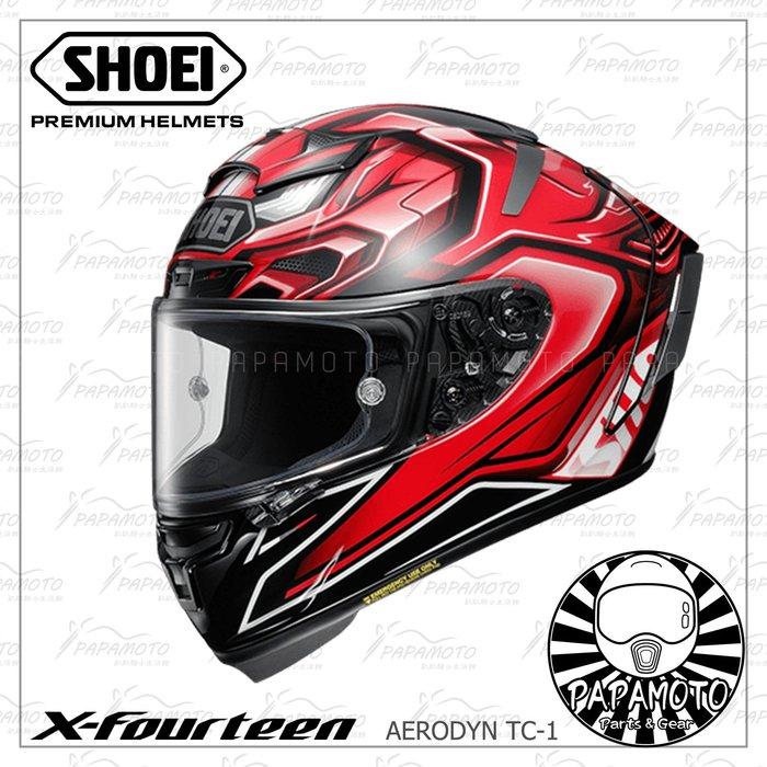 【趴趴騎士】SHOEI X14 Aerodyn TC-1 (X-14 X-Fourteen motoGP snell 紅