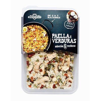 【一井水產】西班牙 TREVIJANO 西班牙蔬菜燉飯(6種蔬菜) 280g / 包 $225