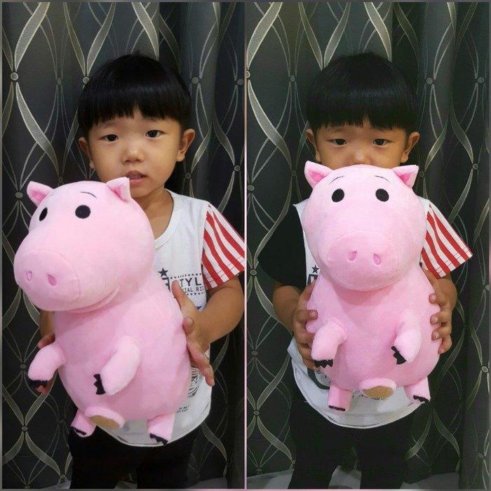 可愛火腿豬玩偶~正版迪士尼~玩具總動員~火腿豬娃娃~生日情人節禮物
