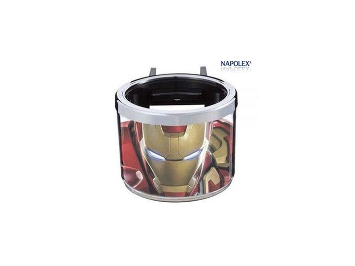 NAPOLEX 鋼鐵人冷氣孔飲料架 ML-15