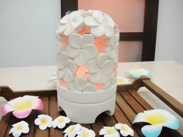 Y【永晴峇里島】巴里島風雞蛋花大石燭台,增添異國風味,居家,民宿,飯店都好用-燭台32@