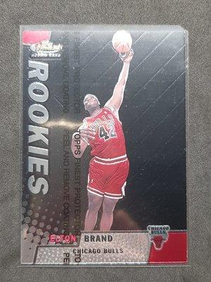 Elton Brand 1999-00 Finest Rookies RC 20世紀末代狀元