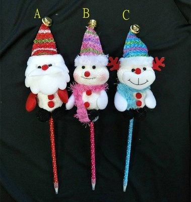 【洋洋小品聖誕造型原子筆聖誕老公公雪人麋鹿】桃園中壢平鎮聖誕服 聖誕節服裝 聖誕婆婆服 服裝女孩聖誕裙聖誕帽聖披肩裝