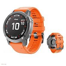 Garmin Fenix 6X/6X Pro/Fenix 6X Sapphire扣快拆矽膠錶帶腕帶 佳明26mm手錶SH雜貨UUU57