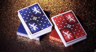 【USPCC 撲克】Heraldry Deck PLAYING CARDS Sanguine 血紅盛典/Azure 碧藍