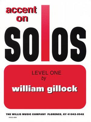 【599免運費】Accent on Solos Book 1 重讀獨奏書1 / HL00416295