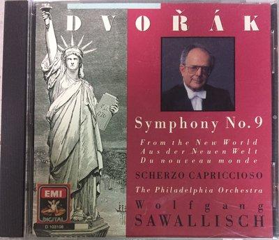 Dvorak- Symphony No-9 Form the new world, 1988年原版  CD, 稀有