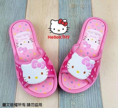 【琪琪的店】三麗鷗 HELLO KITTY 凱蒂貓 女童 童鞋 休閒鞋 拖鞋 輕便鞋 室內鞋 台灣製 粉紅 818124