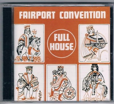 [鑫隆音樂]西洋CD-正港公約FAIRPORT CONVENTION/滿屋 FULL HOUSE (全新)免競標