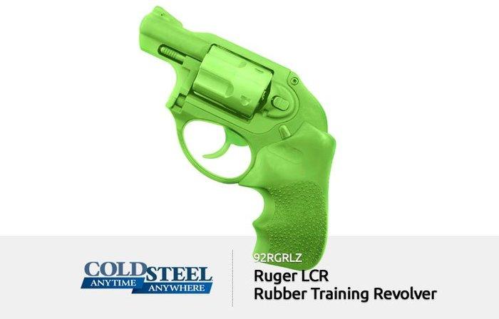 【angel 精品館 】COLD STEEL Ruger LCR .38左輪模型訓練 (亮綠色) 92RGRLZ