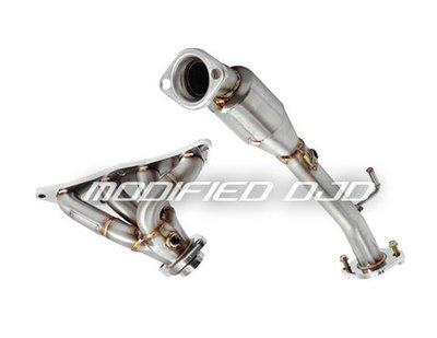DJD Y0068 13 FOCUS 2.0 頭段+金屬觸媒下彎 排氣管