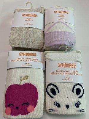 Gymboree  2-3歲女童全新長褲襪