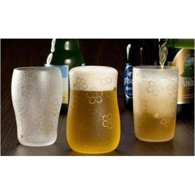 櫻花杯三重奏  一盒有三種櫻花造型設計的玻璃杯  閒暇時和朋友喝一杯 別有趣味~