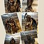 [Vero 設計作品 希臘羅馬神話系列-幸運女神 雙翅雕像 擺 飾 ]-命運女神 財富女神-Fortuna-Tykhe.