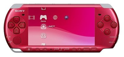 【二手主機】PSP 3007型 主機 紅色 附充電器【台中恐龍電玩】