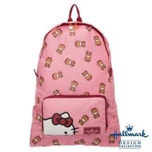 Hallmark X kitty 可收納後背包 粉色  #小日尼三 團購 批發 有優惠 現貨免運不必等#