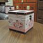 鄉村風面紙盒 蝴蝶花卉面紙盒 小面紙盒 方型面紙盒 粉色面紙盒 捲筒式衛生紙盒套 人造皮革面+木製面紙盒 硬殼面紙盒